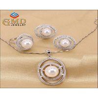 Factory Price Wholesale Silver Jewelry,Crystal Jewelry,Women Jewelry Set