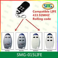 SMG-015LIFE Rolling Code Remote Controller Compatible LIFE VIP2 thumbnail image