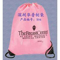promotional nylon drawstring bag, nylon cosmetic trolly case, nylon shoulder bag
