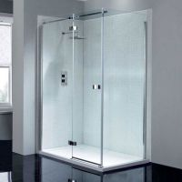 Frameless 1400mm Hinge Shower Door thumbnail image