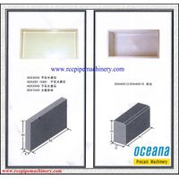 Hot selling plastic mould for interlocking pavers blocks curbstone plastic mould