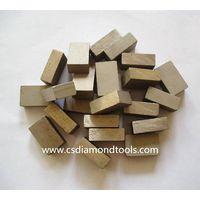 customizable diamond segment marble cutting marble saw blade segment for cutting marble block