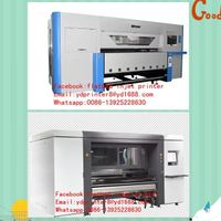 Automical industrial textile printing machine with adjustable 4-8 head