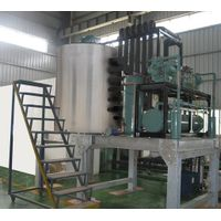 10T/day industrial flake ice machine for fish&seafood icing