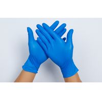 Thickened Nitrile Protective Gloves Adult Epidemic Prevention Durable Food Grade Disposable thumbnail image