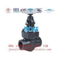 ansi sw globe valve forged steel a105