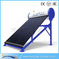 Integrate pressurized heat pipe solar water heater by Sunfull solar