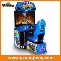 Qingfeng coin operated game machine driving simulator  racing car machine