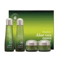 KOREA Aloe Vera Oasis Toner Emulsion Day Cream Night Cream OEM ODM