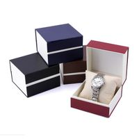 Printed Magnetic Paper Watch Pakcaging Boxes Watch Box