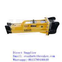 Soosan SB43 Hydraulic Hammer Construction Machinery Parts thumbnail image