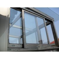 Aluminum alloy frame sliding doors with factory price/thermal break profile sound proof sliding door