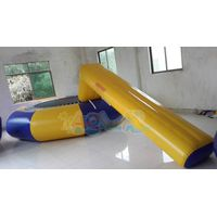 Inflatable Water park Trampoline combo