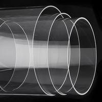 Large Diameter Clear Quartz Glass Tube thumbnail image