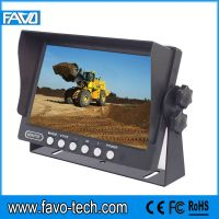 DC12V & D24V Compatible 800*RGB*480 Digital Panel HD Buldozer Monitor with 4 PIN Connector