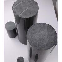 pvc round rod with grey drak grey color