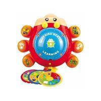 1360E Ladybird Alphabet Disc Player,New Design of Alphabet & Words Learning Toy, Preschool Toy, Educ