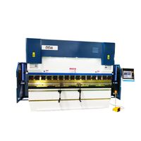 WE67K Series Full Automatic Cnc Press Brake with DA66T 3D Programming CNC Controller System thumbnail image