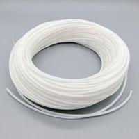5mm milk cream white soft solid core side glow fiber optic lighting thumbnail image