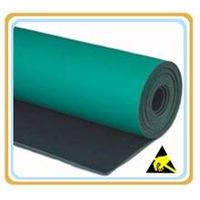 2 layers Smooth Cleanroom green ESD mat thumbnail image