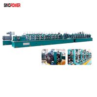 Stainless Steel Round Small Tube Pipe Welding Machine Mill