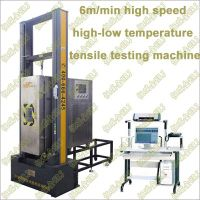 High Speed, High-low Temperature Tensile Testing Machine
