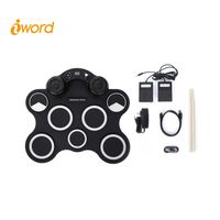 iword G3003 Portable Electronic Drum Set Built-in Hight Quality Speakers