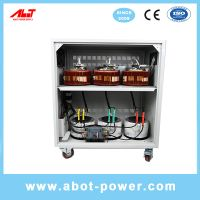 ABOT 3 Phase 400V 415V SVC Servo Type Voltage Stabilizer Regulator AVR 50KVA