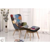 6003CL/6004CL Accent Chair + Ottoman