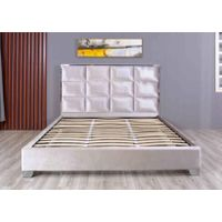 Linear Fabric Bed Frame