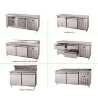 Blue Ocean used restaurant equipment/Refrigerated bar counter OEM factory