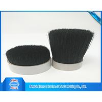 Dyed black bristle