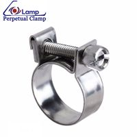 Manufacturer Prices Bolt and Nut Fuel Mini Clamp for Auto Fuel Injector