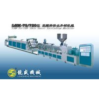 LSM-75/720 double screw starch sheet extruding machine