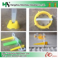 Factory price plastic tile leveling lippage system