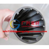 wedge wire filter elements for Juice selfcleaning filter