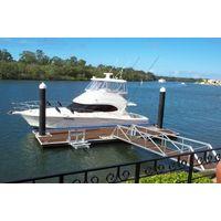 Aluminum frame yacht marina,floating dock thumbnail image