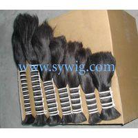 double drawn hair/virgin hair/raw human hair thumbnail image