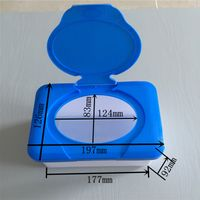 plastic box for wet wipes