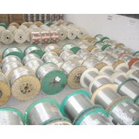 aluminum clad steel wire and strand