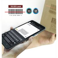 LS7(1D) industrial handheld android barcode scanner with display,wifi,3G thumbnail image