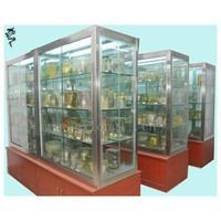 Sampling cabinet/display cabinets