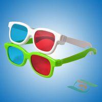 Cheap plastic red cyan 3d glasses thumbnail image