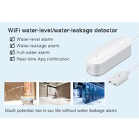 Enerna IoTech WiFi Smart House Security Water Leakage and Water Level Alarm