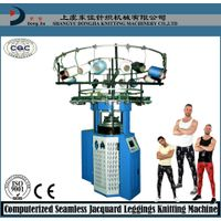seamless double jacquard leggings knitting machine