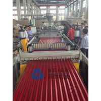 PVC+ASA/PMMA corrugated roof tile production machine
