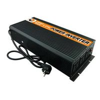 Peak 6000w Modified Sine Wave Power Inverter 3000w Dc 12v to Ac 220v Power Converter with Battery Ch
