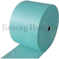 Disposable spunlace nonwoven wiping cleaning cloth roll