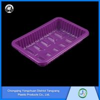 Clear PET plastic packing box for fresh fruits and vegetables