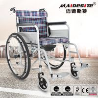 Cheap price lightweight commode wheel chair